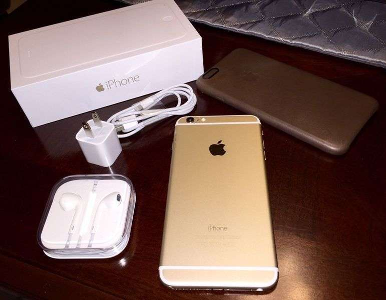 Iphone 6  gold degfrfv