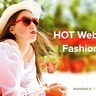 Hot web design for fashion industry