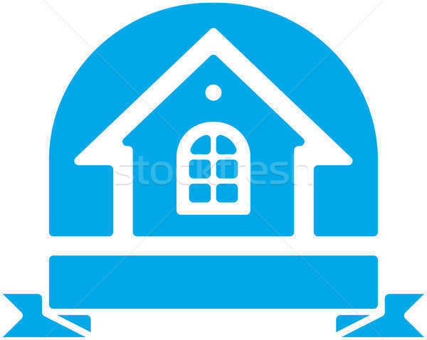 494954 stock photo small house vector emblem