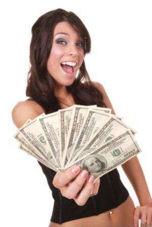11817588 girl with money
